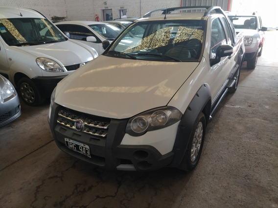 Fiat Strada 1.6 Adventure Ce C/alarma + Lona 2011