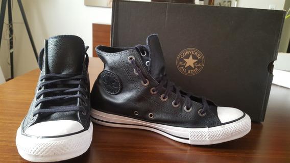 Tênis Converse All Star Chuck Taylor High Preto/preto/branco