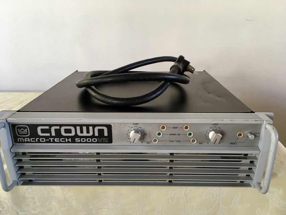 Power Crown Macro -tech 5000 Vz Americano Original