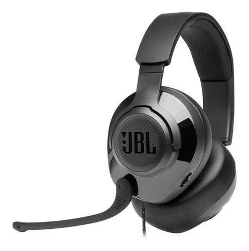 Imagen 1 de 5 de Audífonos gamer JBL Quantum 200 negro