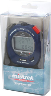 Cronómetro Mistral Cod: Swc-8365-02 Deportivo 60 Vueltas
