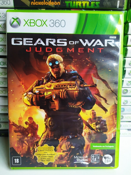 Gears Of War Judgment Xbox 360 Mídia Física