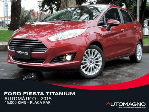 Ford Fiesta Titanium 1.6 At 2015