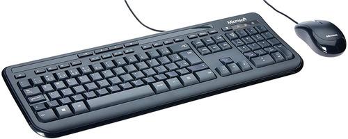 Teclado E Mouse C/ Fio Microsoft Desktop 600 Pc / Mac Usb