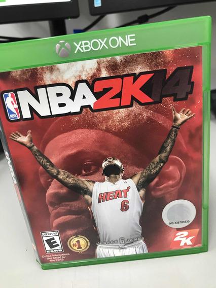 Jogo Nba 2k14 Xbox One Mídia Física Lebron James