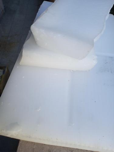 Imagen 1 de 3 de Ceras Parafina Micro Cristalina 74 Ypf X 5kg 1 Placa