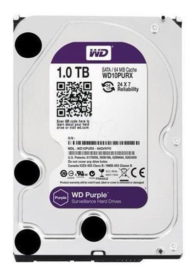 Hd 1 Tb Wd Purple Próprio Para Dvr Intelbras Luxvision Etc