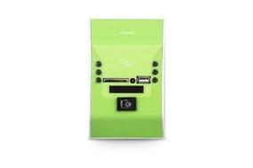 Amplificador De Parede Slim Wall Verde Frahm