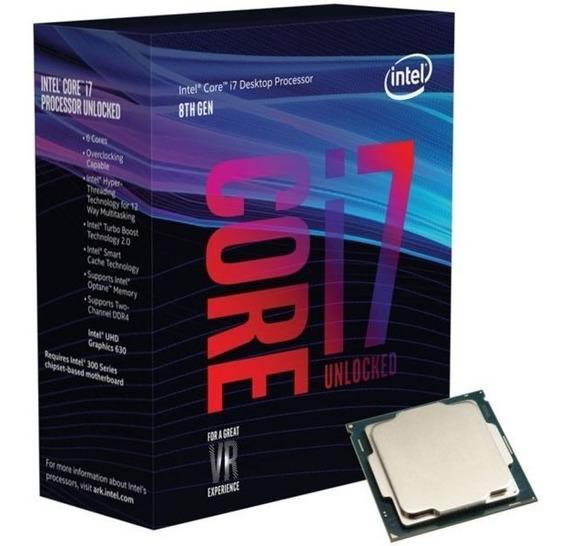 Processador Intel Core I7 8700 + 16gb Ddr4 + H310 Asus