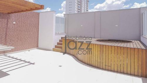 Cobertura Duplex Nova Com 3 Dormitórios À Venda, 166 M² - Mansões Santo Antônio - Campinas/sp - Ap3326
