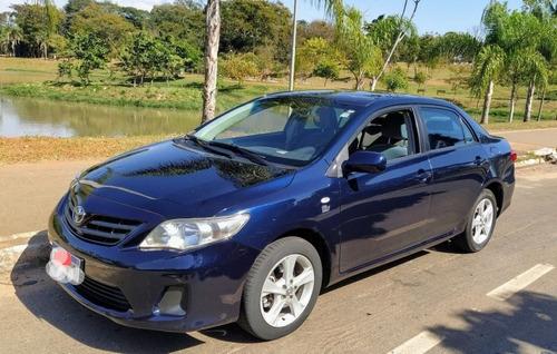 Imagem 1 de 10 de Toyota Corolla 2012 1.8 16v Gli Flex 4p