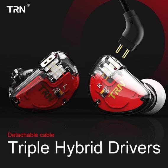 Fone In Ear Trn V30 6 Drivers Com Crossover Retorno De Palco