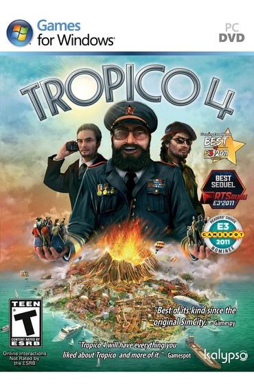 Jogo Tropico 4 Para Pc - Mídia Digital Envio Imediato