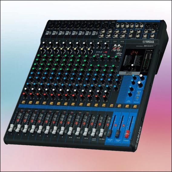 Consola Yamaha Mg16xu -mg20xu Mixer Mezcladora (leer)