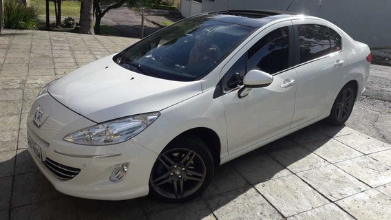 Peugeot 408 Griffe Thp Turbo 2014 - Periciado - Impecável
