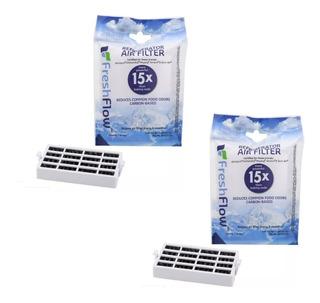 2 Filtros De Aire Refrigerador Eliminador Olores W10311524 2319303 W10335147 W10315189 Wd-w10311524
