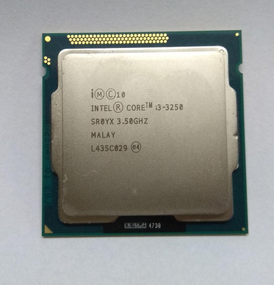Processador 1155 Intel Core I3 3250 3.50 Ghz - 3 Geração Semi-novo.