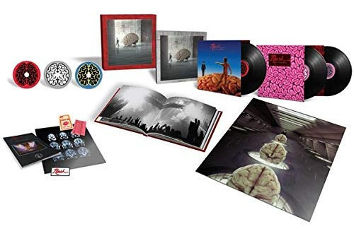 Rush - Hemispheres 40th Anniversary Deluxe Box Lacrado Lp Cd