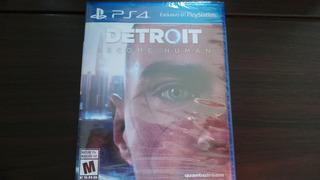 Detroit Become Human Ps4 Nuevo Sellado