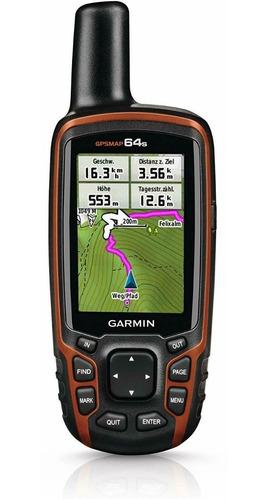 Gps Garmin Map 64s Brujula Altimetro Glonass 100% Nuevo Gar.