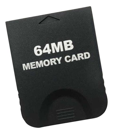 64mb Cartão De Memória Stick Para Nintendo Wii Gamecube Ngc