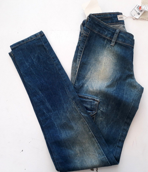 Calça Jeans Bolso Lateral Feminina Hering