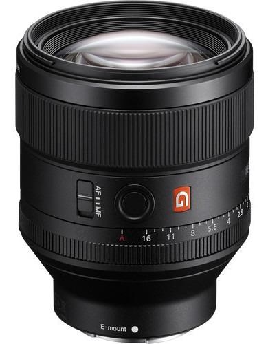 Lente Sony Fe 85mm F/1.4 Gm
