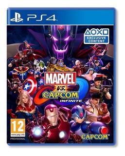 Marvel Vs Capcom Infinite - Ps4