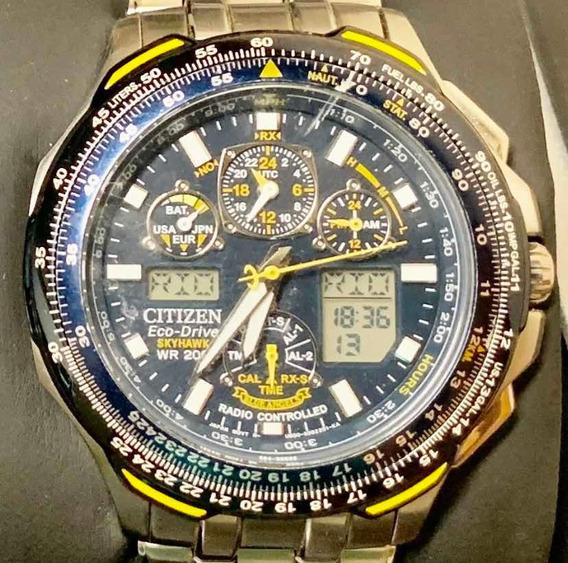 Relógio Citizen Eco-drive Skyhawk At Original/raridade/otimo