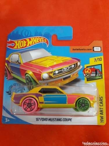 Dos Carros Hotwheel Ford Mustang Coupe Calidad Nuevo Niños