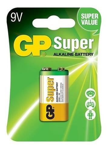 Pilas Bateria  9v (cuadrada)  Gp Super Alcalina Original