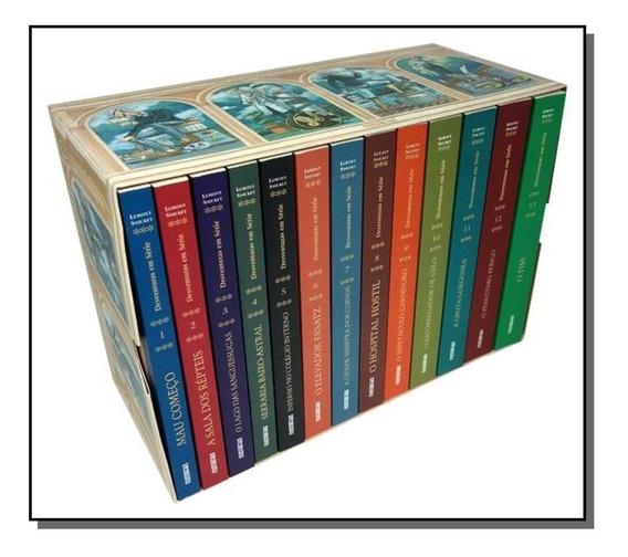 Caixa Desventuras Em Serie - 13 Volumes - Box