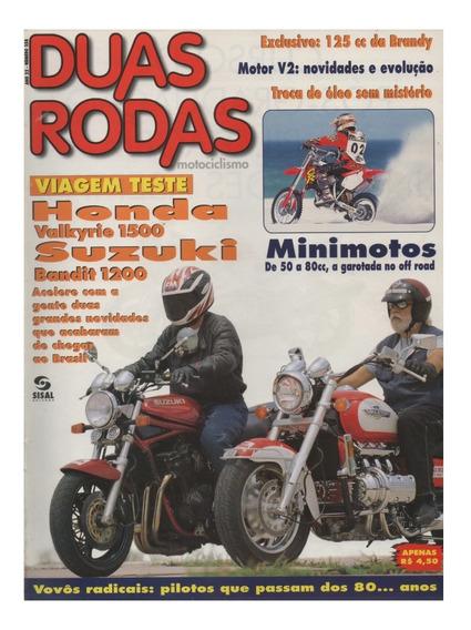 Duas Rodas N°258 Mar/1997 Honda Valkyrie 1500 Bandit 1200