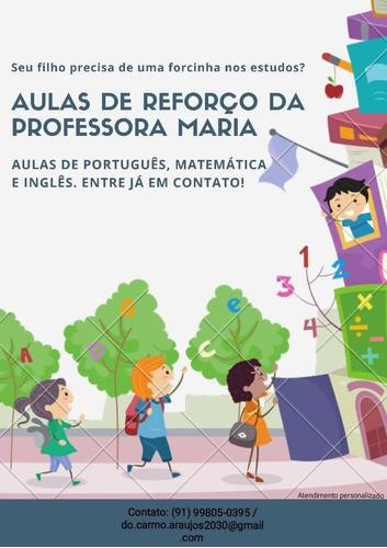 Aulas Particulares De Inglês, Português E Matemática