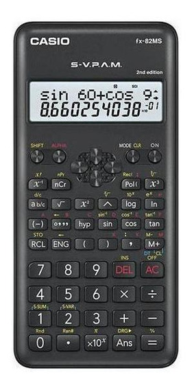 Calculadora Cientifica Casio Fx-82ms 2nd Edition Com 240 Fun