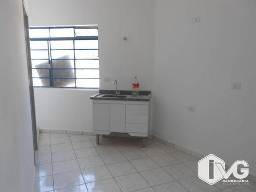 Apartamento Para Alugar, 30 M² Por R$ 800,00/mês - Jardim Palmira - Guarulhos/sp - Ap1862