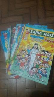 10 Revistas Saiba Mais Turma Da Mônica/educacionais