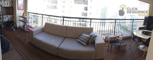 Imagem 1 de 20 de Apartamento 3 Suítes ( Espaço Gourmet - 2 Vagas ) À Venda De 147,00 M² Por R$ 1.200.000 - Centro - São Bernardo Do Campo/sp - Ap0860