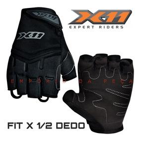 Luva X11 Fit X Meio 1/2 Dedo Motociclista Moto Verão Origina
