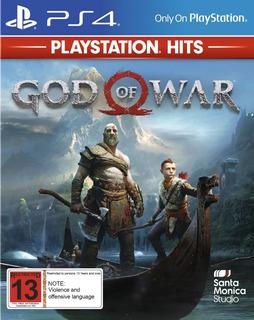 God Of War Para Ps4 (código)