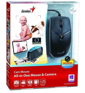 Mouse Usb & Camara 2 Mp Genius All-in-one