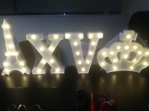 letras del alfabeto iluminadas decoraci/ón de bares n/úmeros de s/ímbolo Navidad Letrero de luces de letras de marquesina LED luz de coraz/ón de amor para bodas fiestas de cumplea/ños