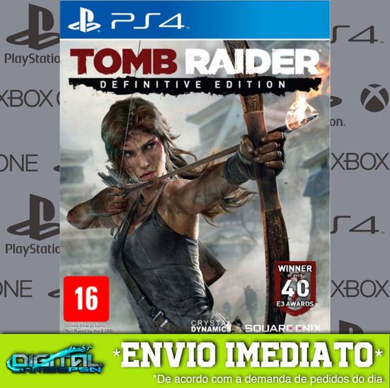 Tomb Raider Definitive Edition Ps4 Jogo Digital Envio 10 Min