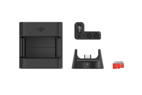 Dji Osmo Pocket Kit Com Módulo Wireless, Controle, Suporte +