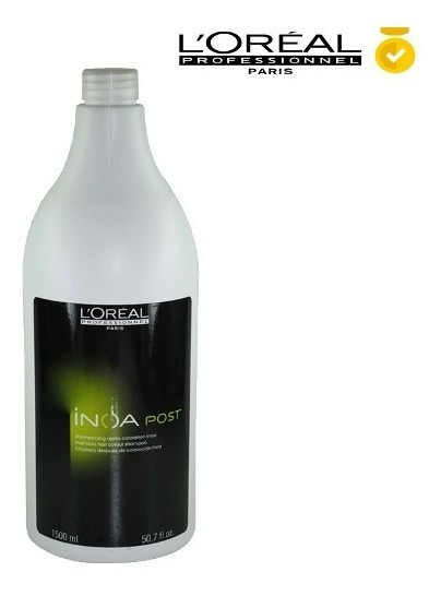 Inoa Loreal Shampoo Post Color X 1.5lt Cuidado Color