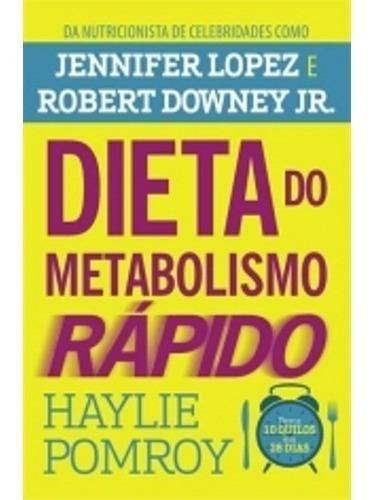 Livro Dieta Do Metabolismo Rápido Harpercollins