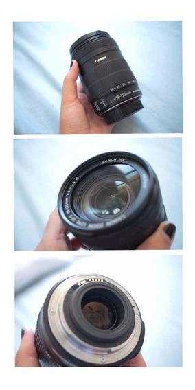 Lente Canon 18-135mm Ef-s F/4.5-5.6
