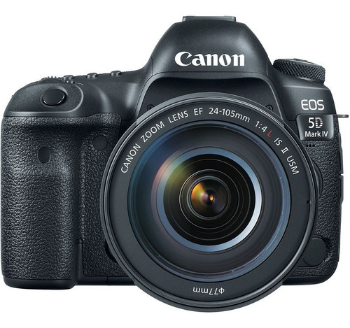 Câmera Canon 5d Mark Iv C/ 24-105mm F/4 Garantia Nfe