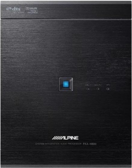 Processador De Áudio Hi-end Para Sq E Hi-fi Alpine Pxa H800