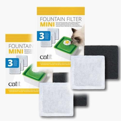 Imagen 1 de 4 de 6x Filtros Repuesto Para Fuente Mini Flower Cat It + Envío !